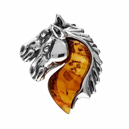 Our Famous Nature & Animals Collection in Baltic Amber in 925 Sterling Silver
